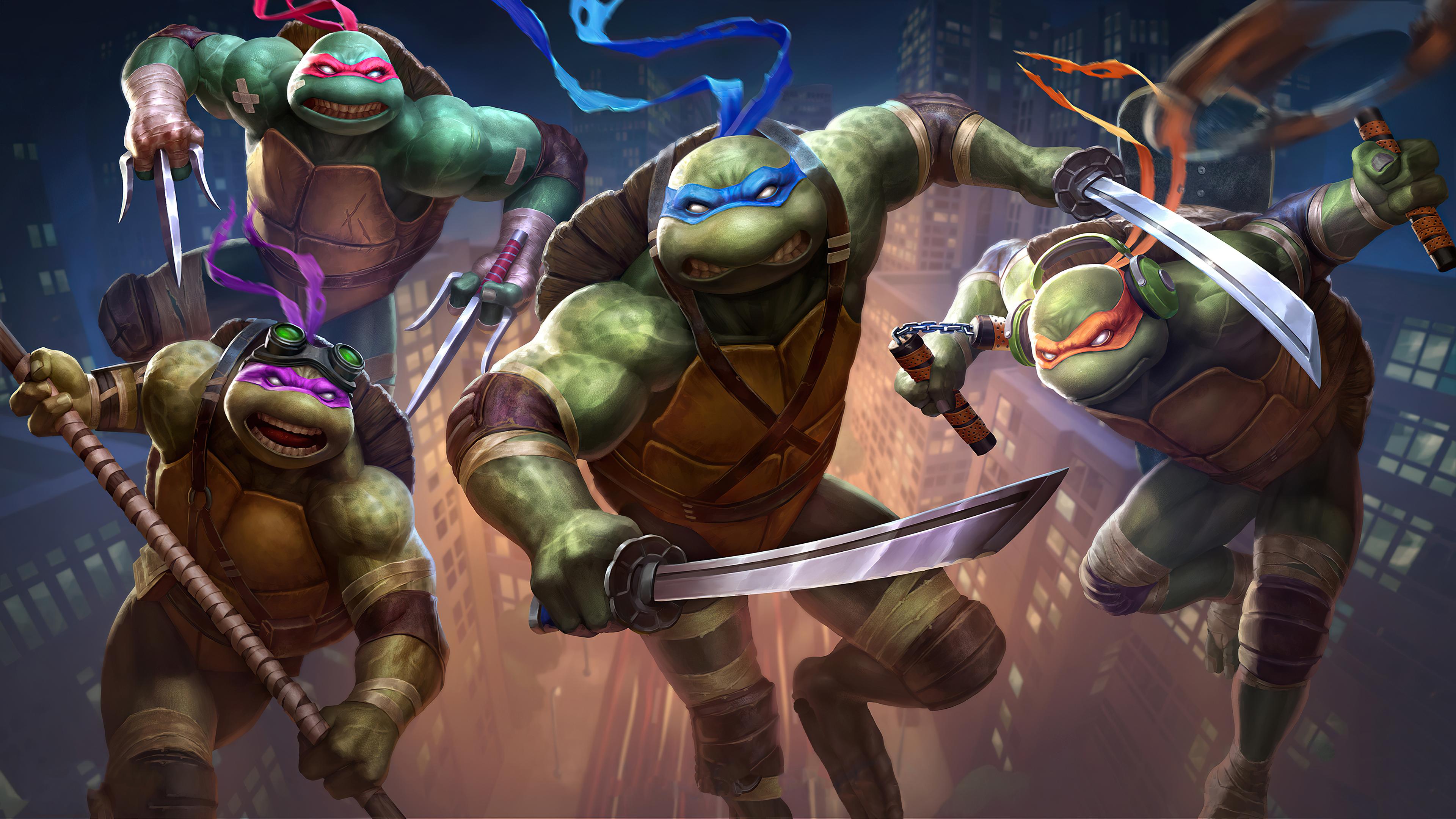 Teenage Mutant Ninja Turtles 2020, HD Movies, 4k