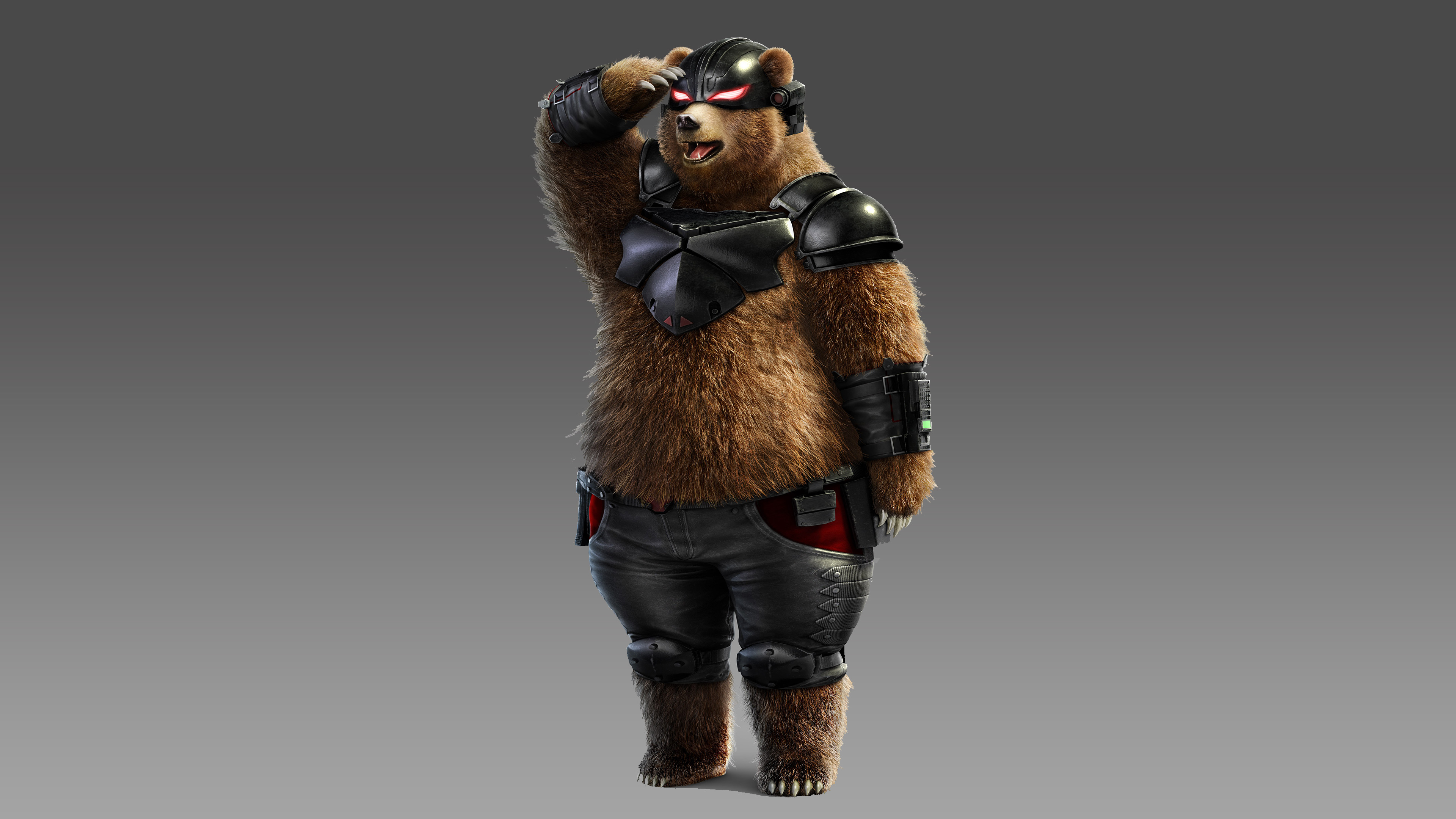 Tekken 7 Kuma And Panda 4k Hd Games 4k Wallpapers Images