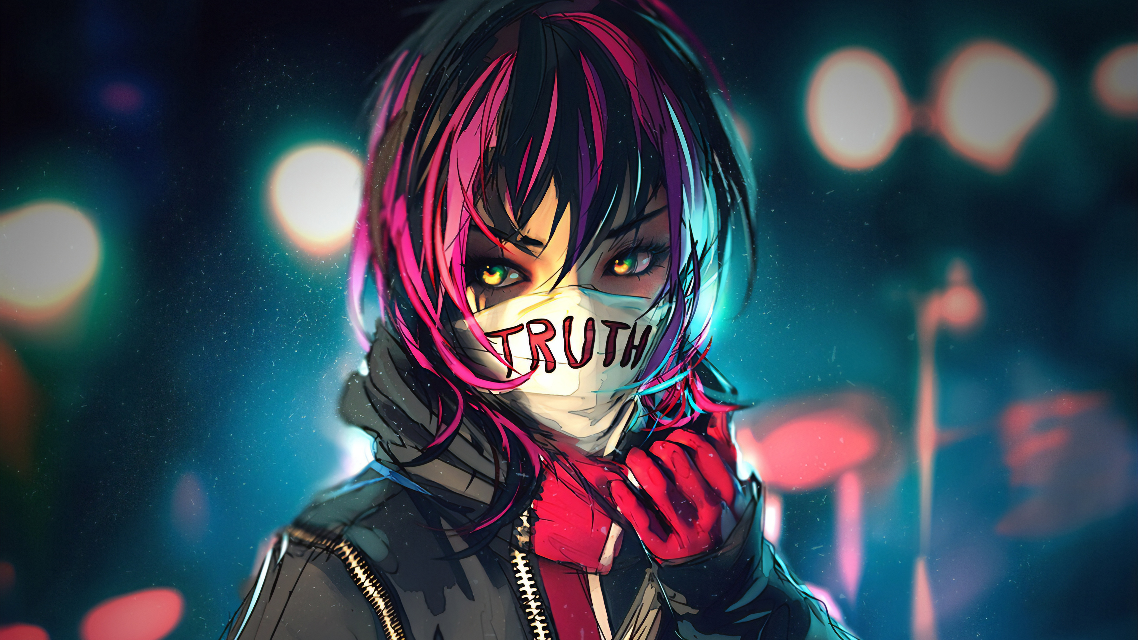 Tell Me The Truth, HD Anime, 4k
