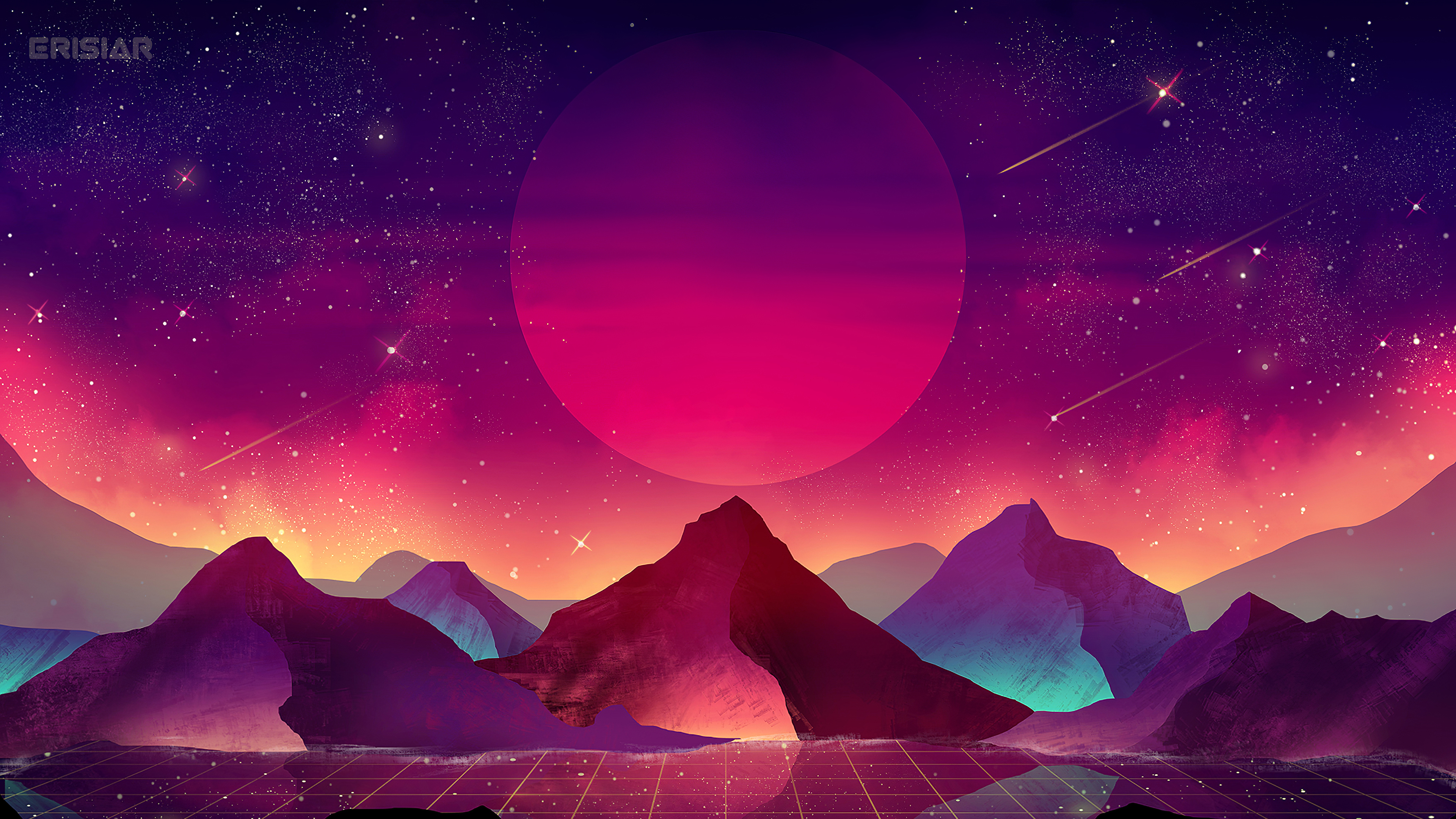 320x240 Terrain Vaporwave 4k Apple Iphone Ipod Touch Galaxy Ace Hd 4k Wallpapers Images Backgrounds Photos And Pictures