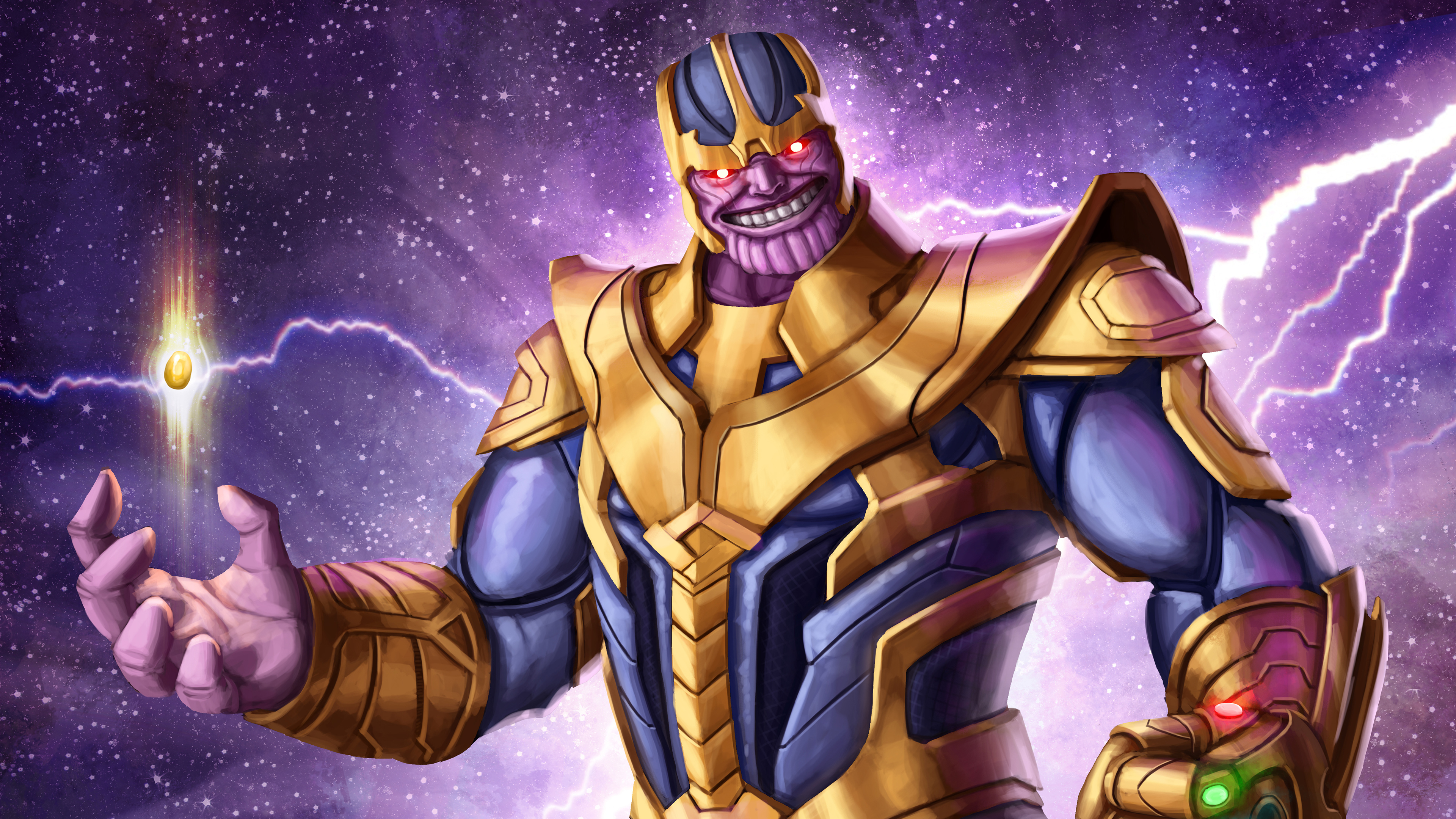 Thanos 4k Arts Hd Superheroes 4k Wallpapers Images