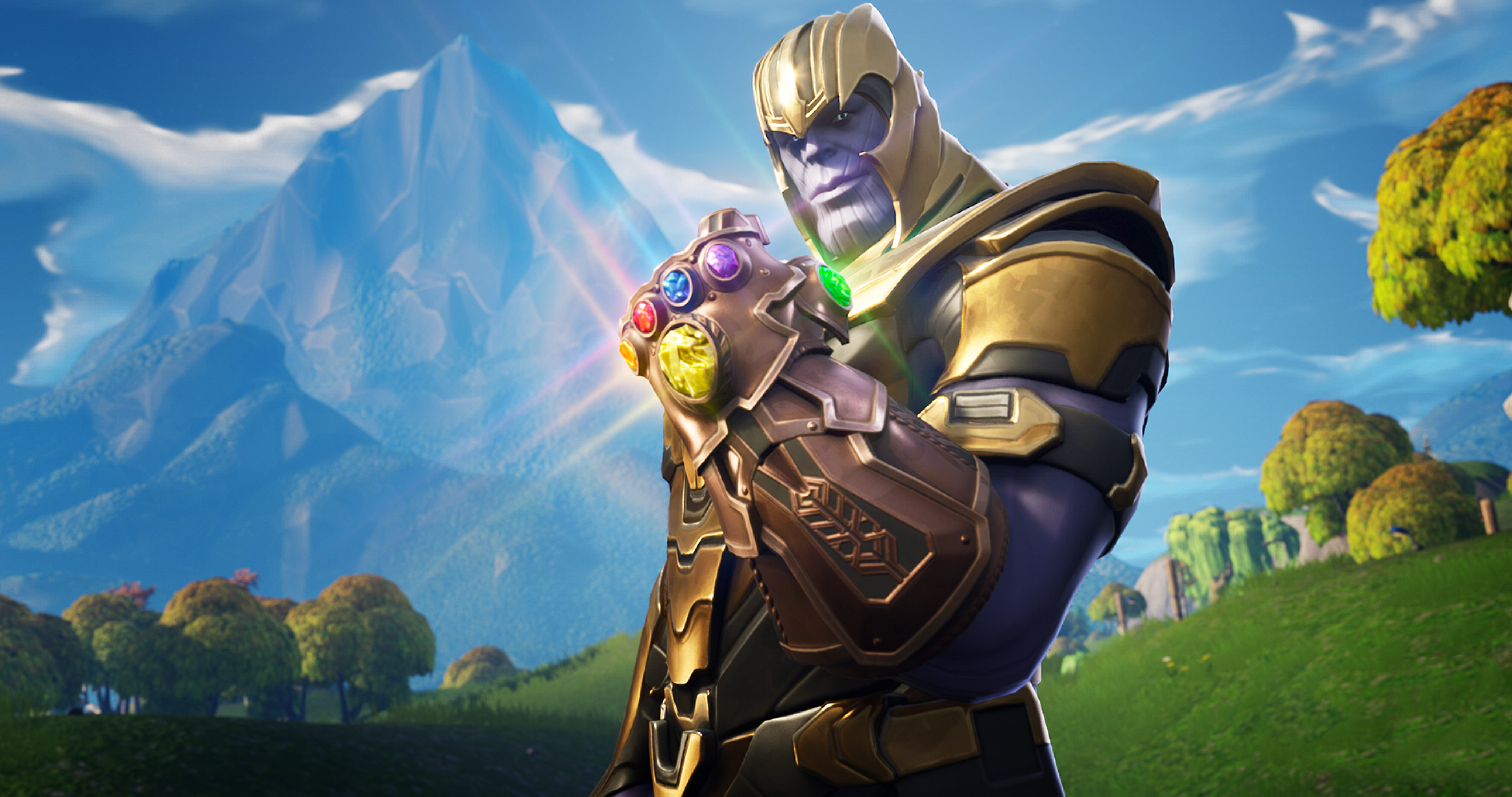 2048x2048 Thanos In Fortnite Battle Royale Ipad Air Hd 4k Wallpapers Images Backgrounds Photos And Pictures