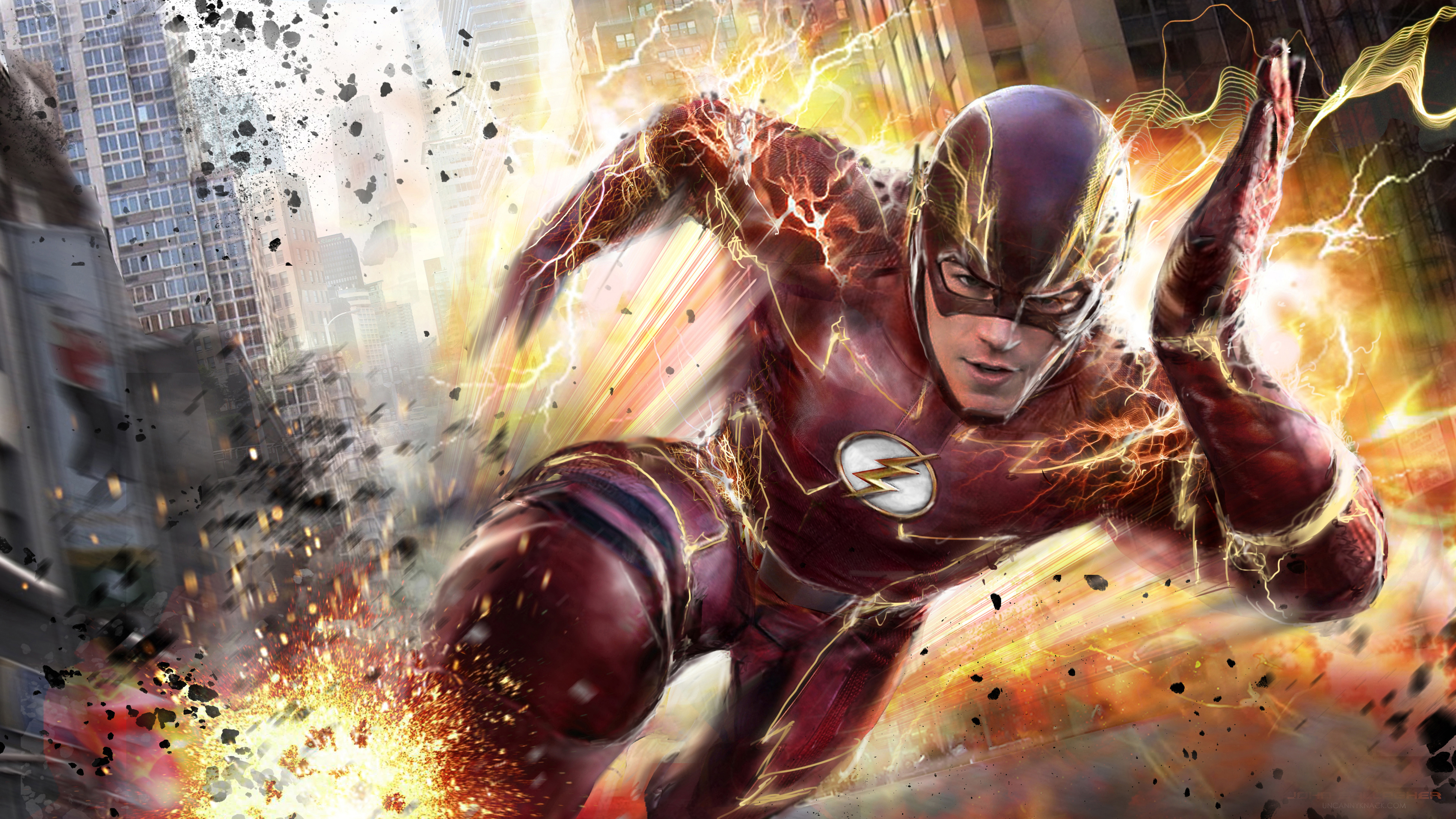 The Flash 4k Hd Tv Shows 4k Wallpapers Images Backgrounds