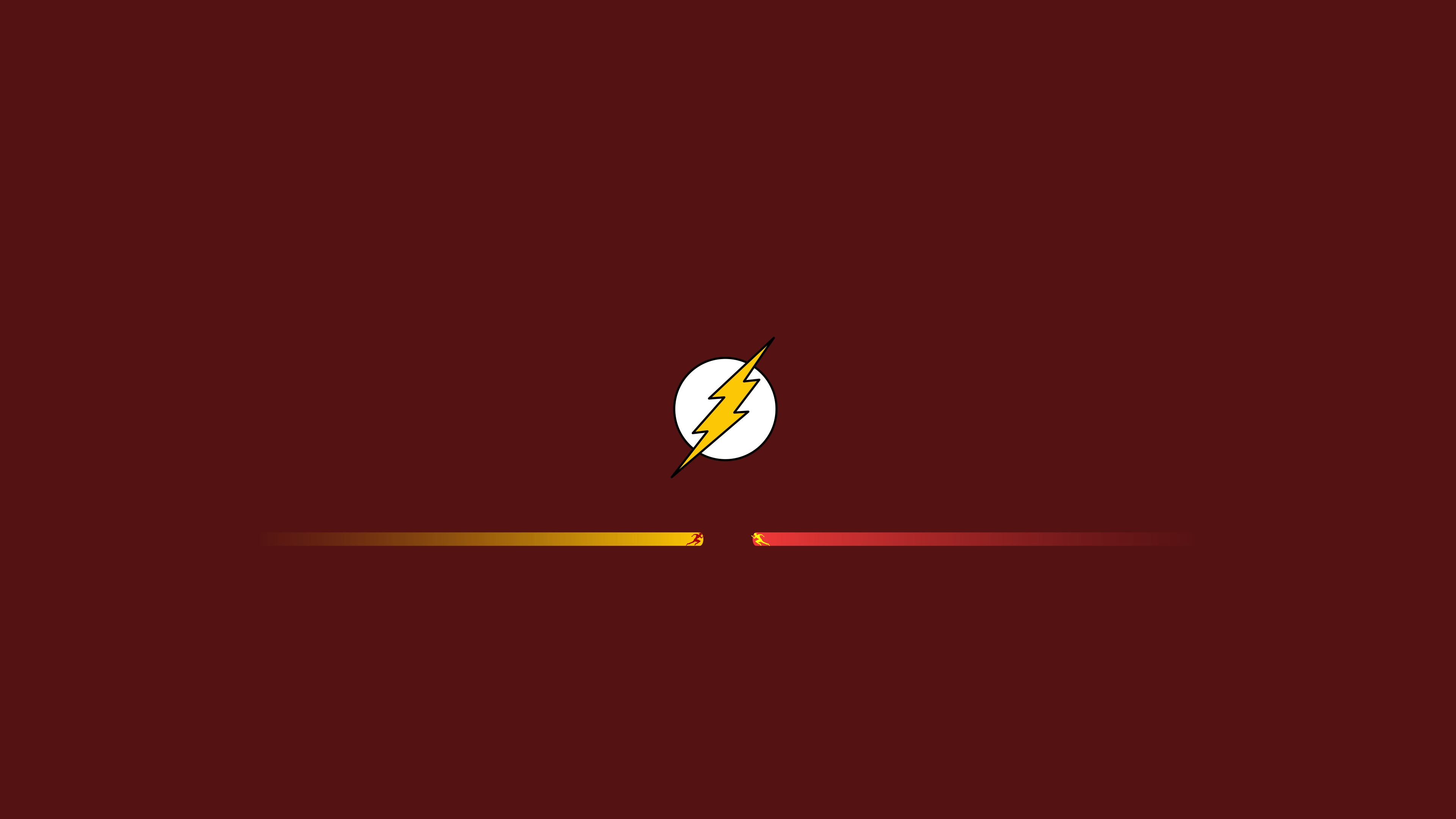 The Flash And Reverse Flash Minimalism Hd Superheroes 4k