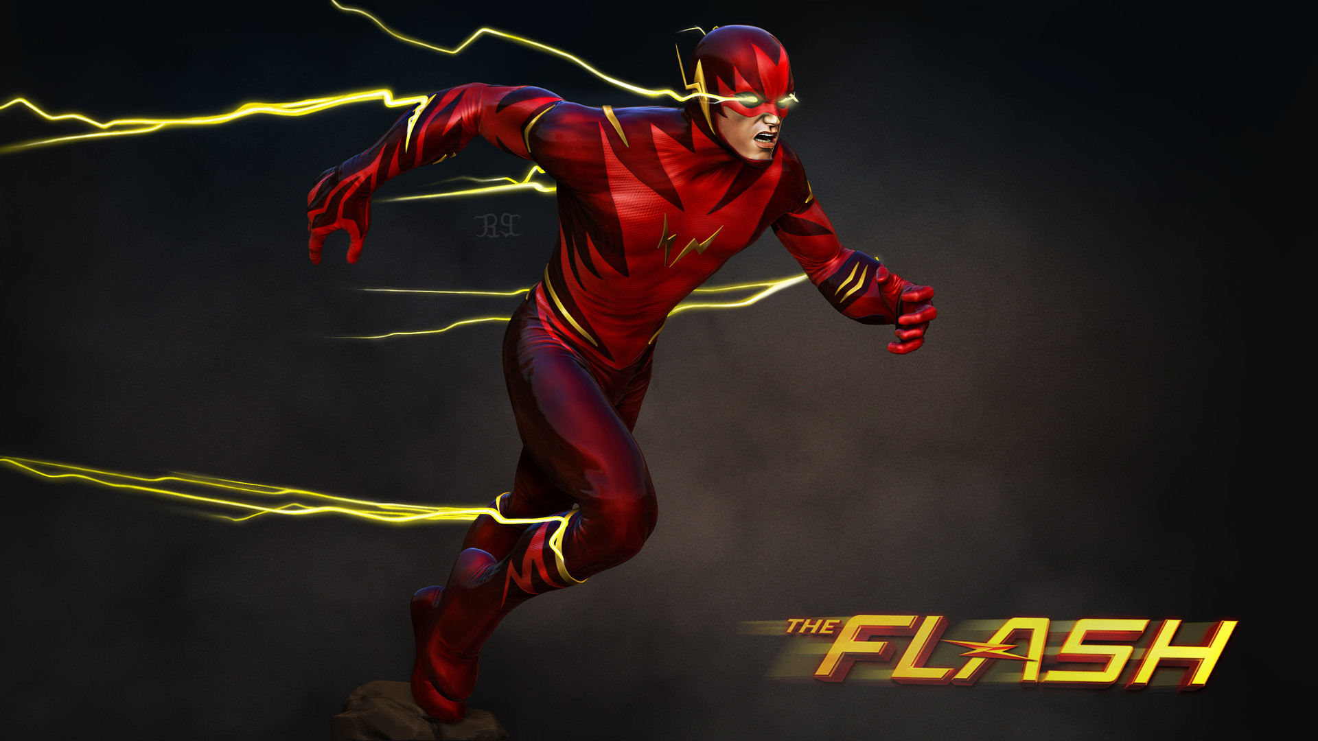 480x854 The Flash Barry Allen Art Android One Hd 4k Wallpapers