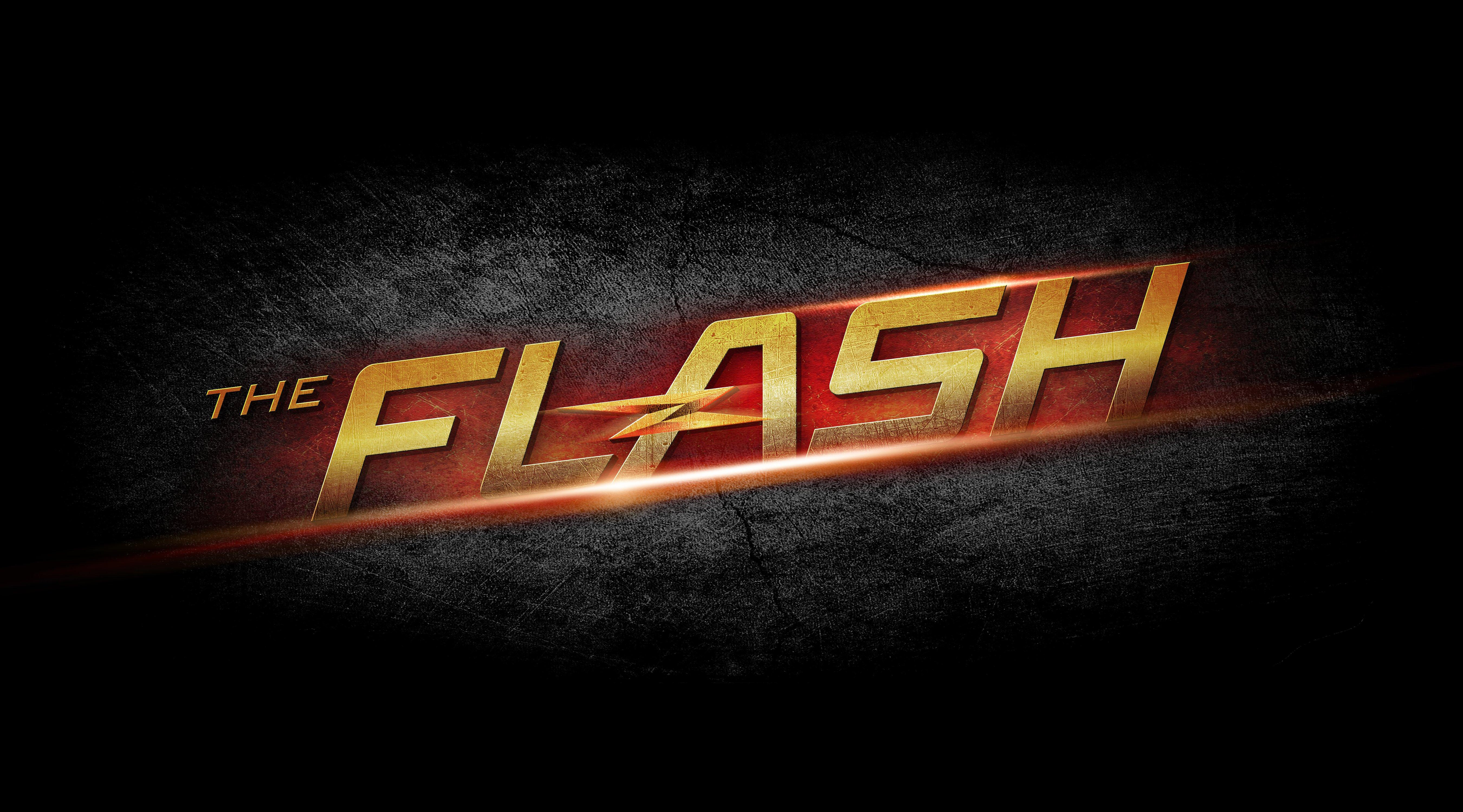 The Flash Hd Logo Hd Tv Shows 4k Wallpapers Images Backgrounds