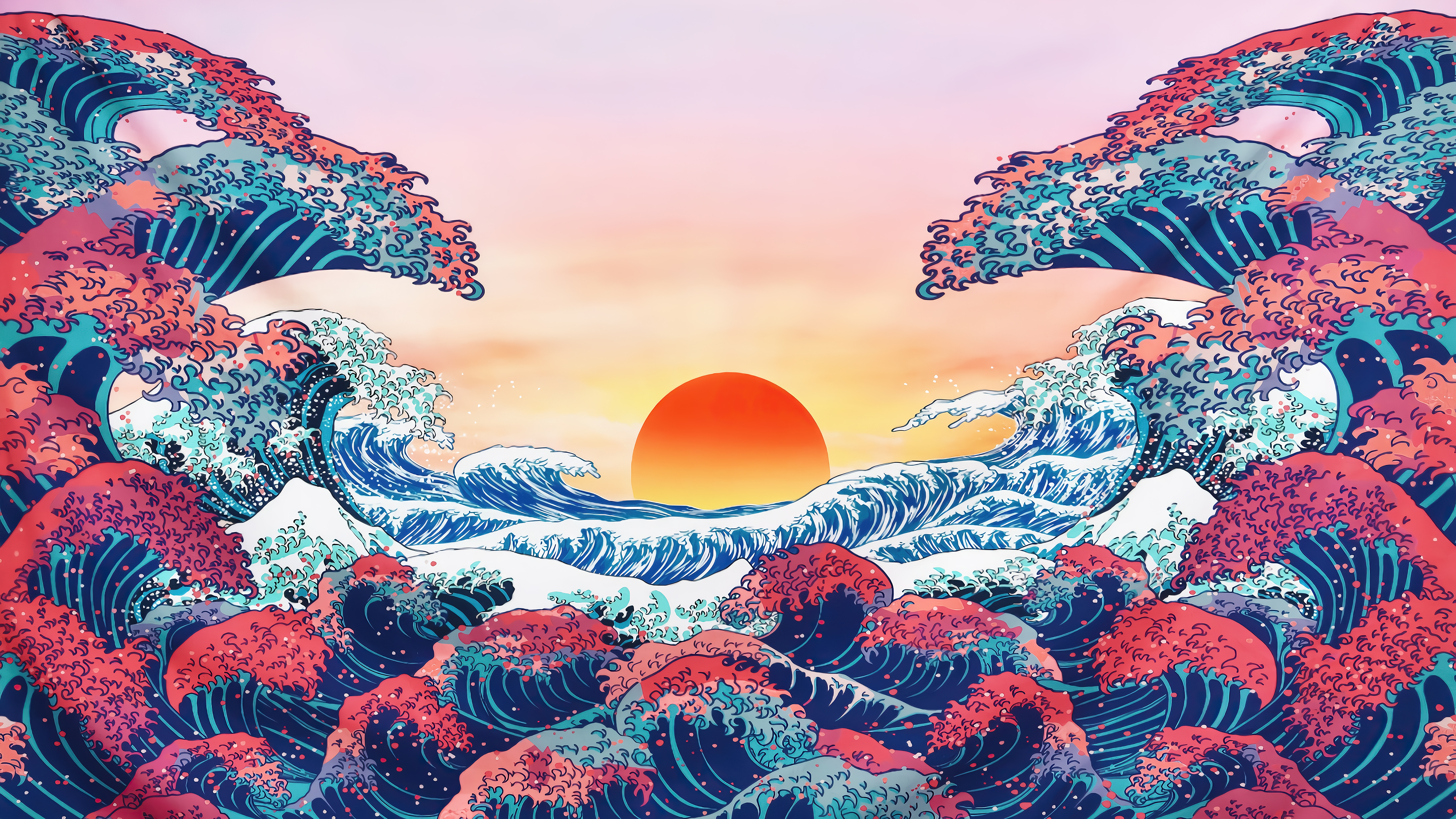 The Great Wave Off Kanagawa 5k, HD Artist, 4k Wallpapers, Images,  Backgrounds, Photos and Pictures