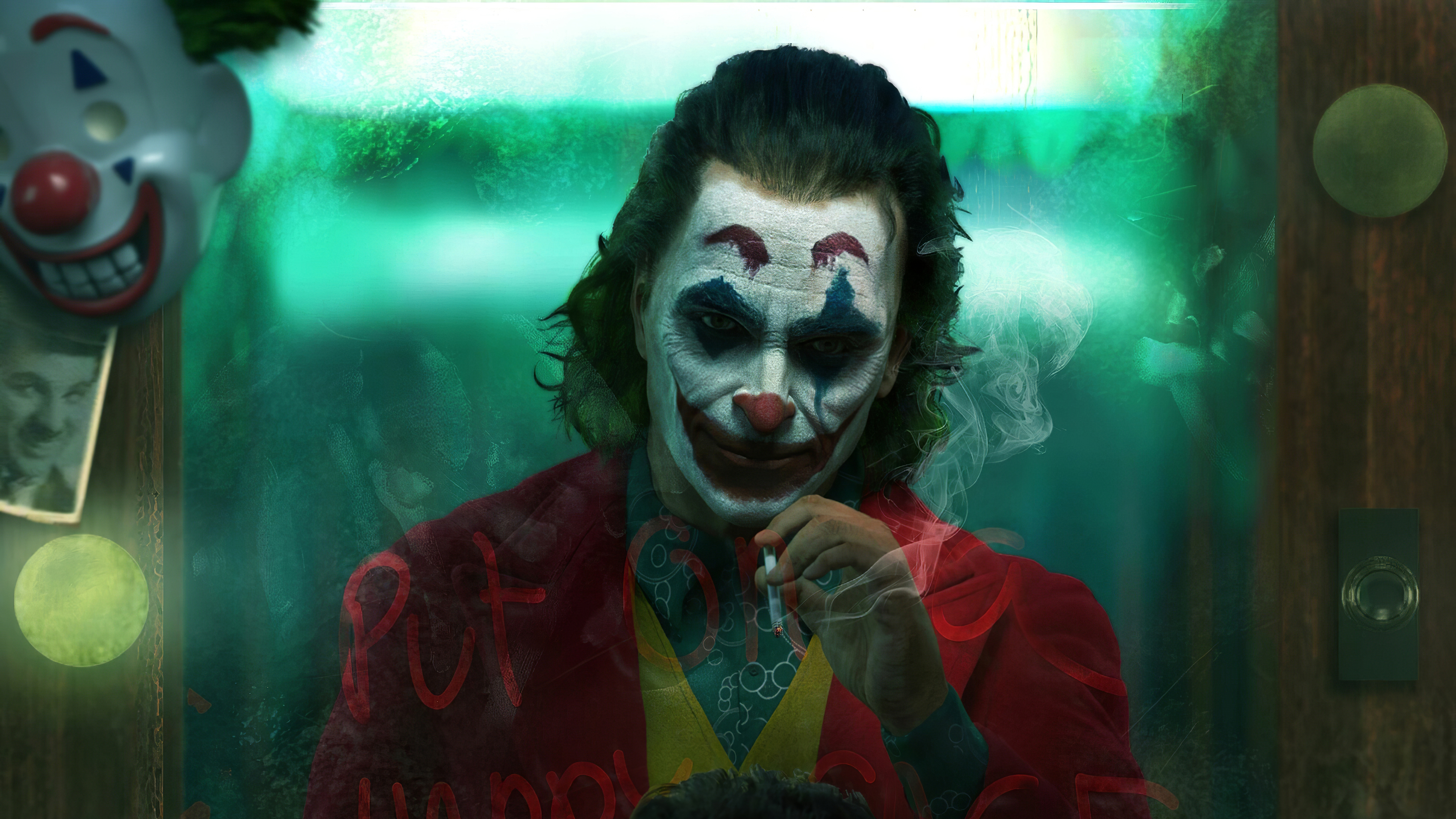 The Joker Fanart Smoke 4k Hd Superheroes 4k Wallpapers Images Backgrounds Photos And Pictures