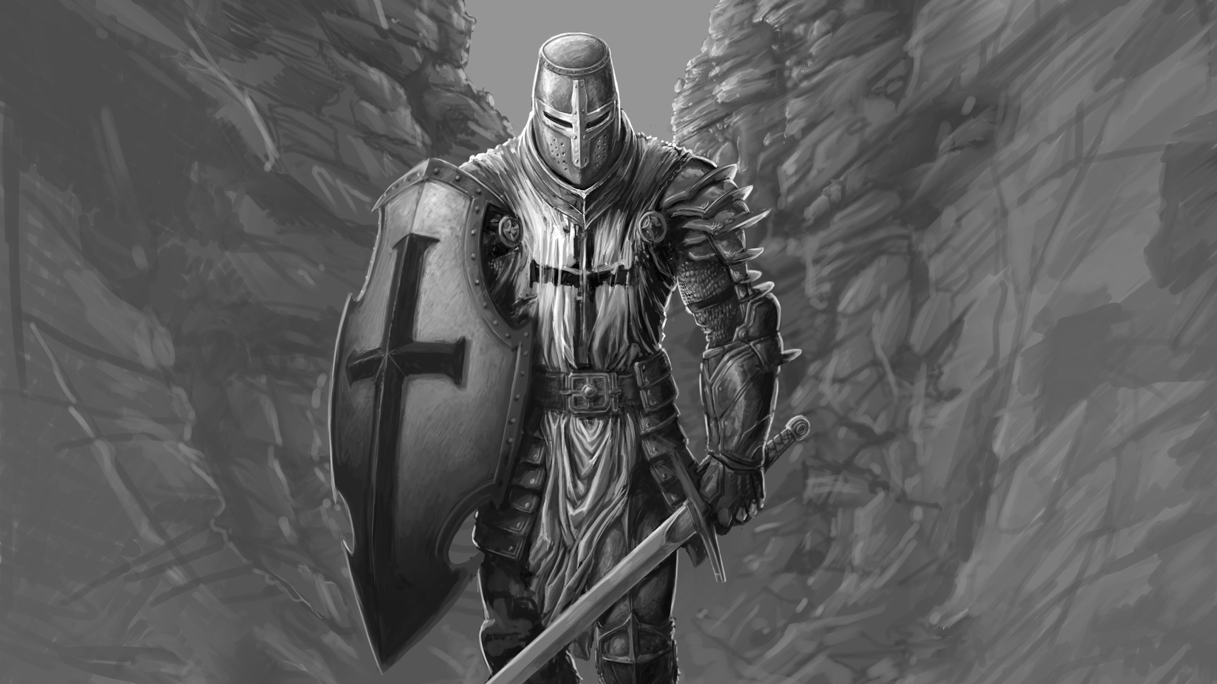 The Knight Hd Artist 4k Wallpapers Images Backgrounds Photos And Pictures