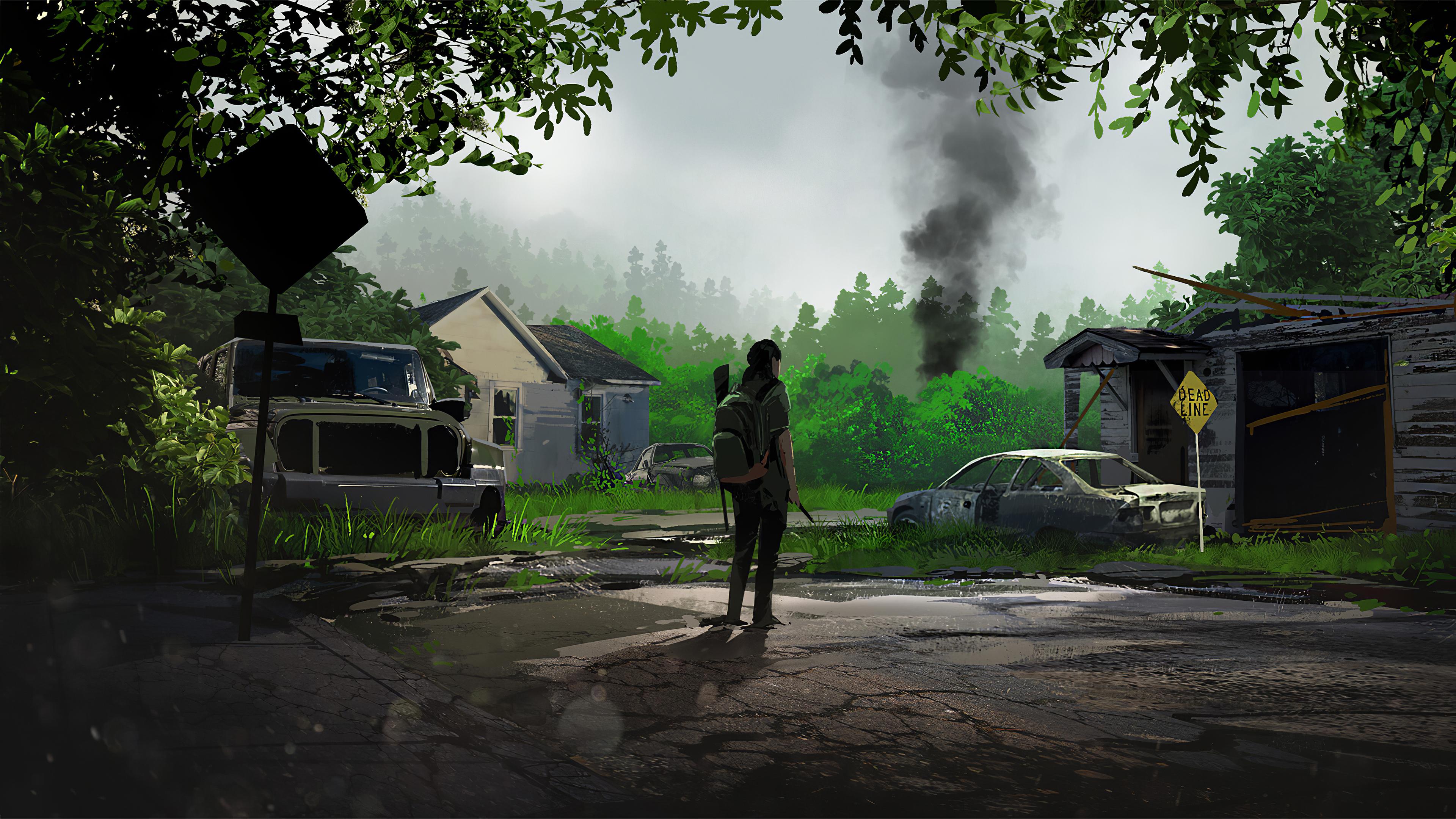 750x1334 The Last Of Us Part Ii Fan Art Iphone 6 Iphone 6s