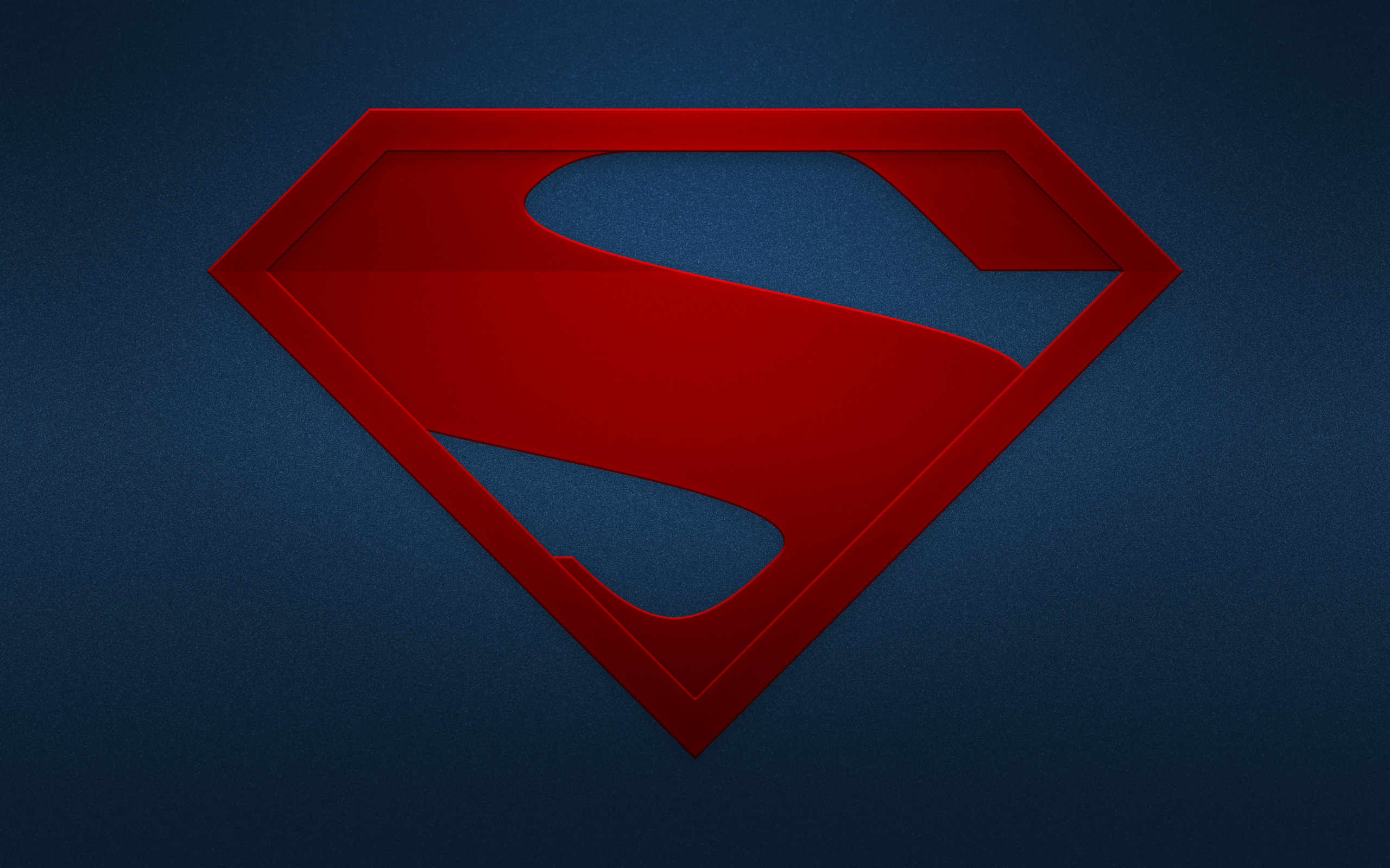The Man Of Steel Logo Hd Superheroes 4k Wallpapers Images