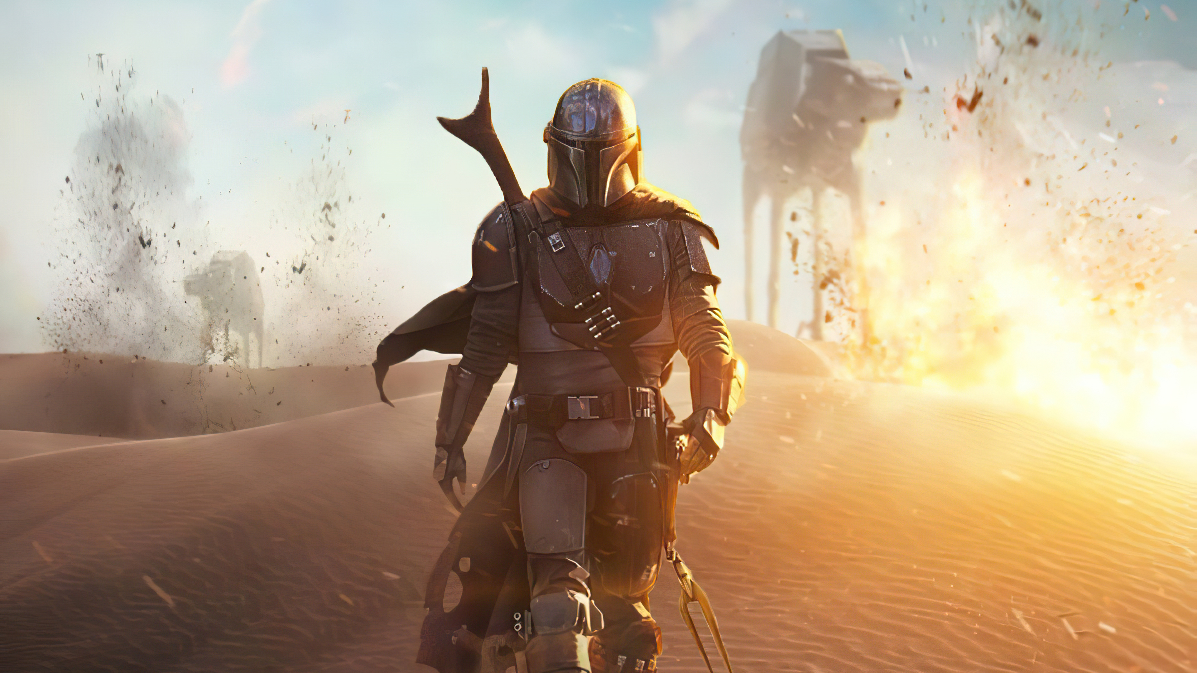The Mandalorian 4k Artwork 2020 Hd Tv Shows 4k Wallpapers Images Backgrounds Photos And Pictures