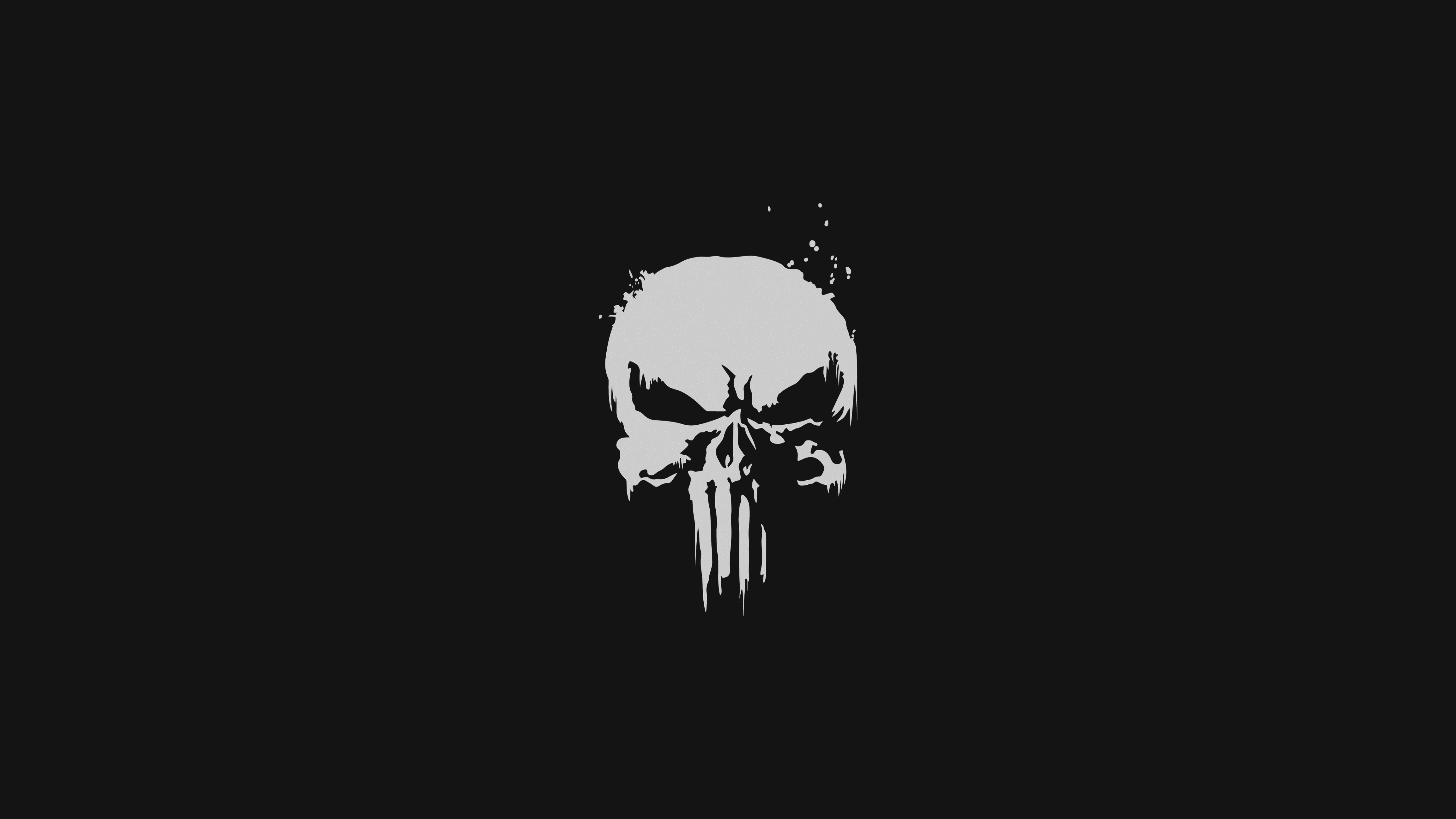 The Punisher Minimalist Logo 4k Hd Tv Shows 4k Wallpapers Images Backgrounds Photos And Pictures