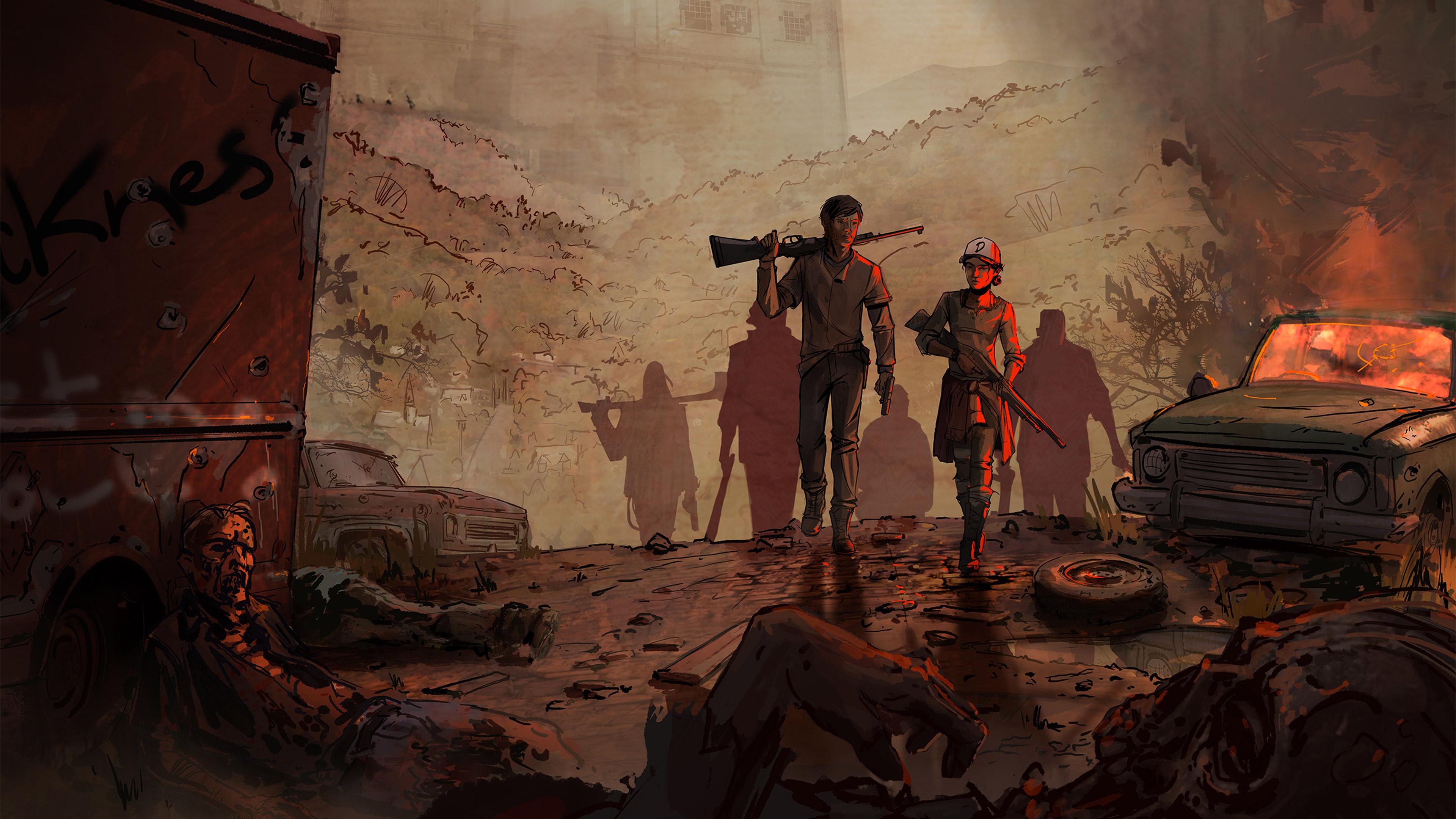 The Walking Dead The Telltale Series 2016 Hd Games 4k Wallpapers