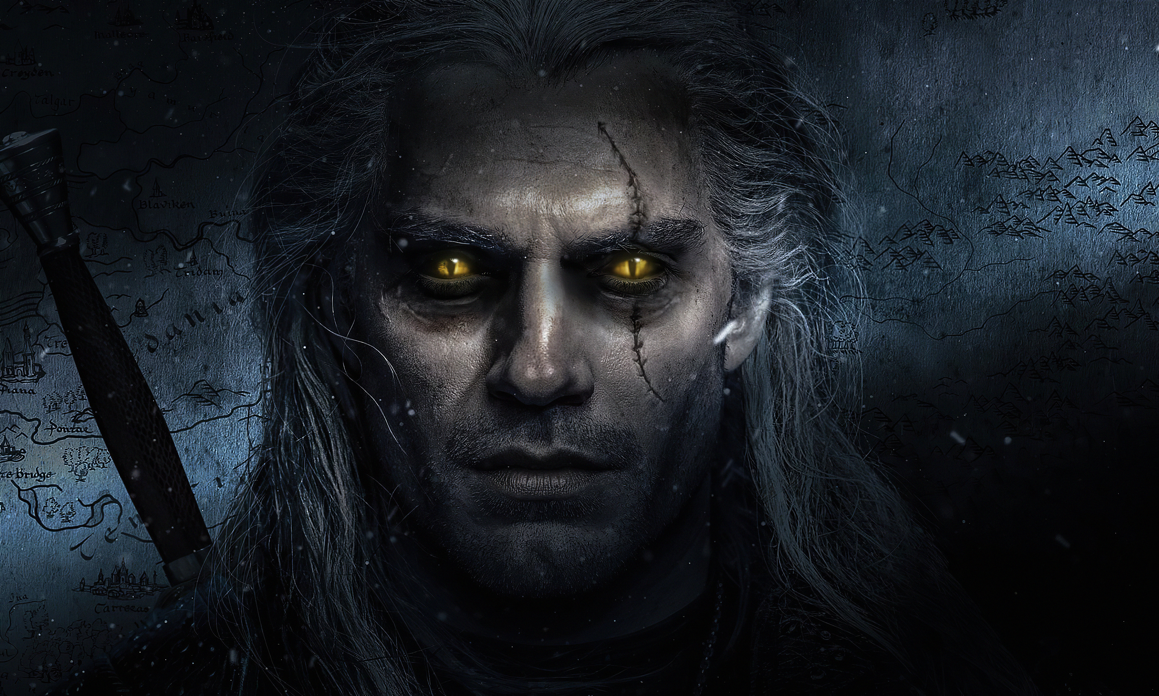 The Witcher Henry Cavill 4k Tv Series Hd Tv Shows 4k Wallpapers Images Backgrounds Photos And Pictures