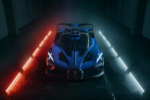 10k Bugatti Bolide 2021 Wallpaper