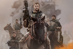 12 Strong Chris Hemsworth 2018 Movie