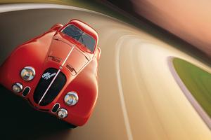 1938 Alfa Romeo 8C 2900B Speciale Le Mans Wallpaper