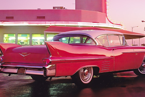 1958 Cadillac Series 62 Coupe Wallpaper