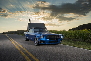 1965 Ringbrothers Ford Mustang Convertible Ballistic 4k Wallpaper