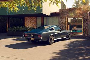 1967 Ford Mustang CGI