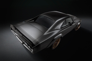 1968 Dodge Super Charger Concept Rear