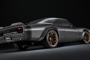 1968 Dodge Super Charger Concept Rear View