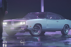 1969 Dodge Charger RT Wallpaper