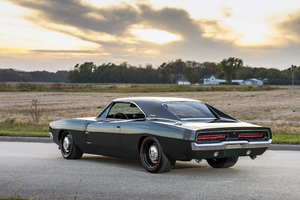 1969 Ringbrothers Dodge Charger Defector Rear View