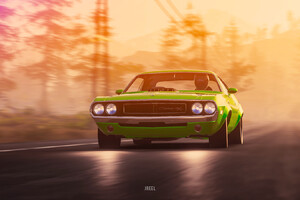 1970 Dodge Challenger RT From The Crew 2