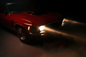 1970 Ford Mustang Coupe Classic Car 5k Wallpaper