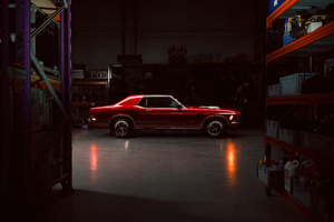 1970 Ford Mustang Coupe Wallpaper