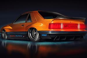 1980 M81 McLaren Mustang 4k Wallpaper