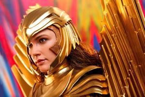 1984 Wonder Woman Armor Wallpaper