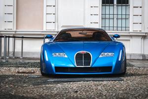 1999 Bugatti Chiron Concept Car Wallpaper