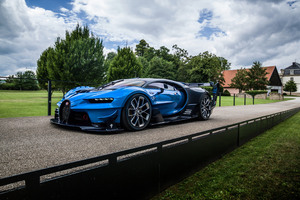 2016 Bugatti Vision Gran Turismo Wallpaper