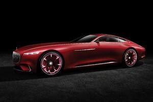2016 Mercedes Maybach Vision Concept Car
