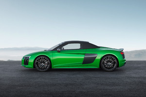 2017 Audi R8 Spyder V10 Plus 4k Wallpaper