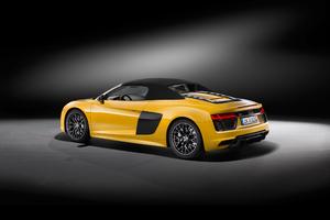 2017 Audi R8 V10 Spyder 4k