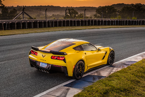 2017 Chevrolet Corvette Grand Sport Rear