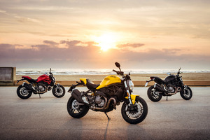 2017 Ducati Monster 821 4k Wallpaper