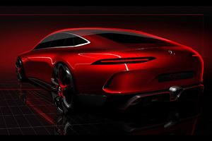2017 Geneva Mercedes Benz AMG GT Concept