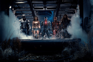 2017 Justice League Movie Heroes Wallpaper
