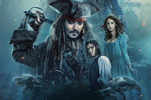 2017 Pirates of the caribbean dead men tell no tales Movie Wallpaper