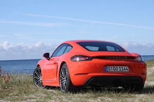 2017 Porsche 718 Cayman Wallpaper