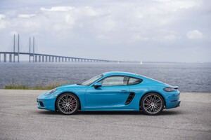 2017 Porsche 718 Cayman S Wallpaper