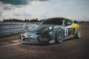 2017 Porsche Cayman Gt4 Clubsport Wallpaper