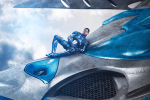 2017 Power Rangers Movie Zord Blue