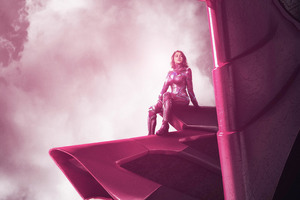 2017 Power Rangers Zord Pink