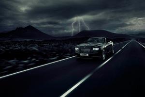 2017 Rolls Royce Dawn Black Badge Wallpaper